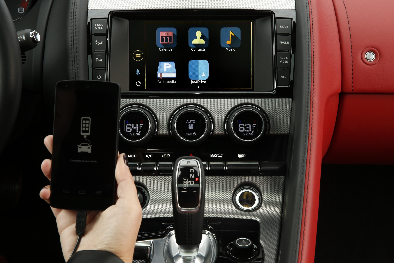 Jaguar Land Rover justDrive App Lets You Control Phone Apps via