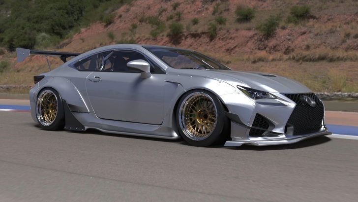 Lexus RC RC F Rocket Bunny Kit Available For Preorder