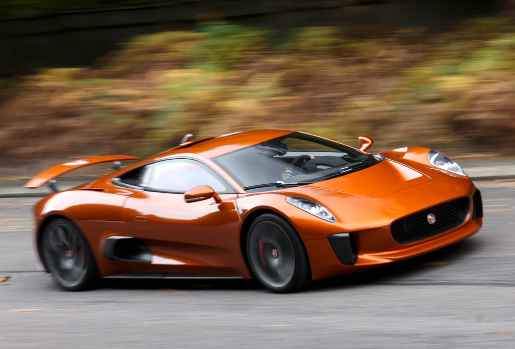 Midengine Jaguar Considered, Electric Sports Car
