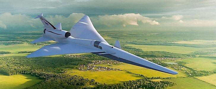 NASA Renames Supersonic Test X-Plane as X-59 QueSST - autoevolution