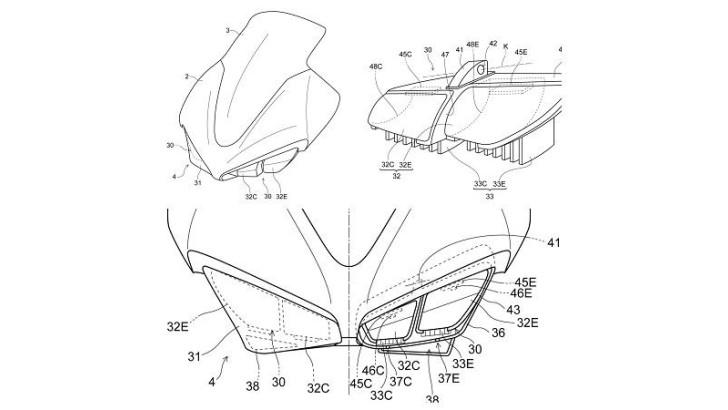 New Honda CBR1000RR Will Have LED Headlights, Leaked