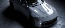 """Nissan 400Z """"Slantnose"""" Looks Like a JDM Porsche Sports Car"""