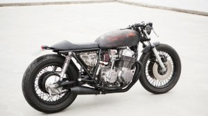 No Chrome for the New Wrenchmonkees Honda CB750K7