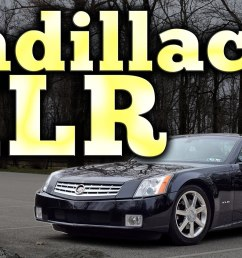 regular car reviews looks at cadillac xlr explains why it sucks [ 1500 x 844 Pixel ]