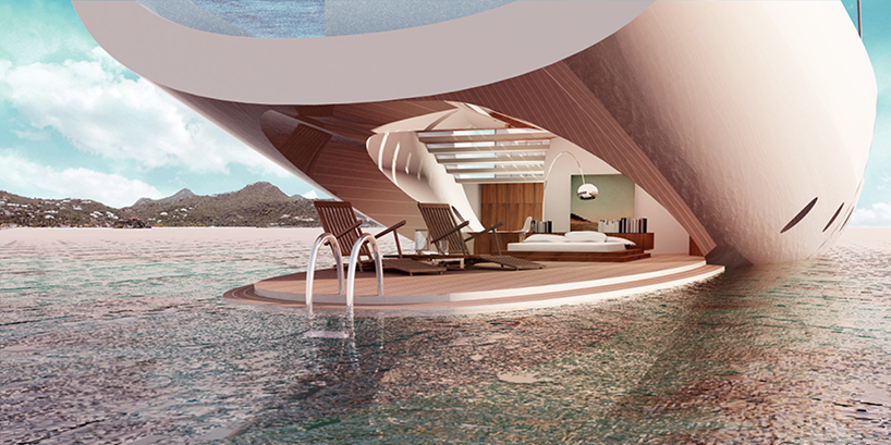 SALT Luxury Yacht Concept Enables Its Passengers To