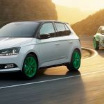Skoda Fabia Wrc Special Editon Has Green Wheels And 1 4 Turbo Autoevolution