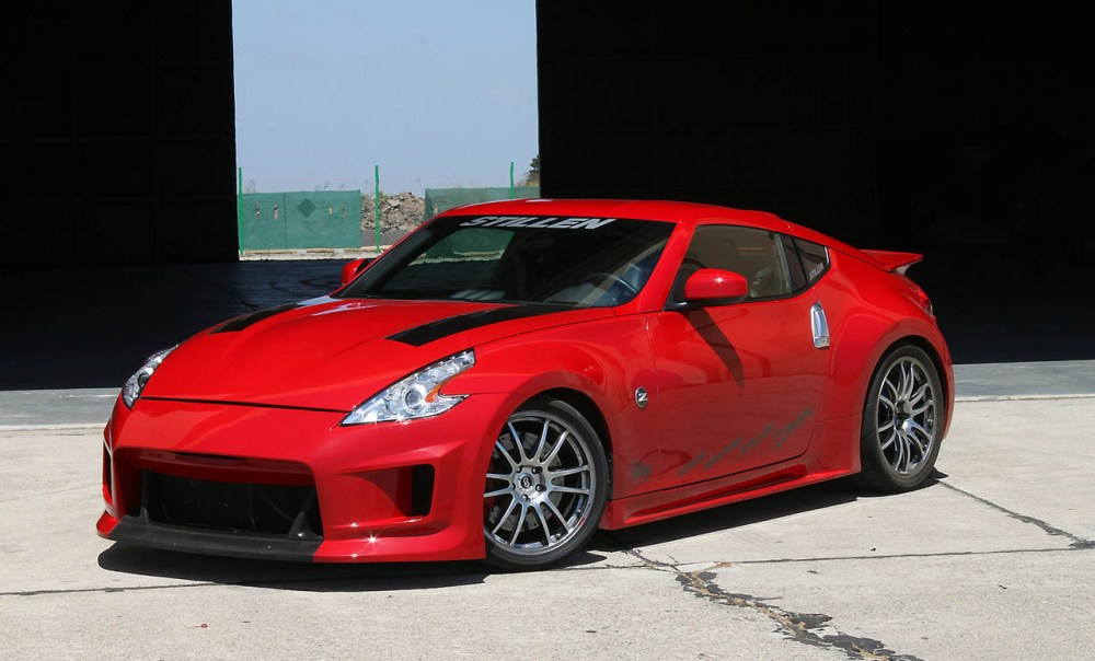 medium resolution of stillen nissan 370z kit