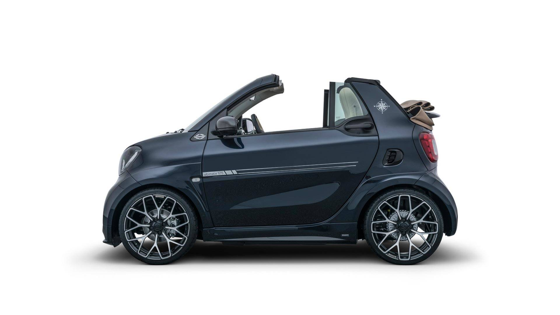 The Brabus Ultimate Sunseeker Is Not Your Average Smart Fortwo Autoevolution