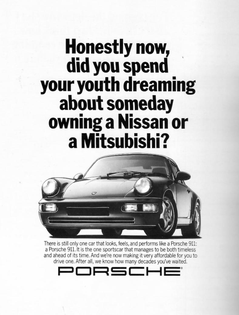 best porsche print ads ever