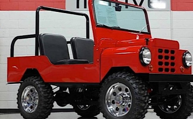 Tiny Jeep Like Build Is A Real Deal All American Fun