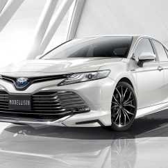 All New Camry 2018 Black Harga Yaris Trd Sportivo Toyota Japan Gifts The With And Modellista Special