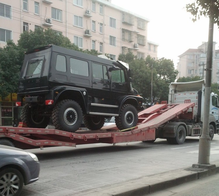 Unimog SUV Is One Step Up From The G Wagon Autoevolution