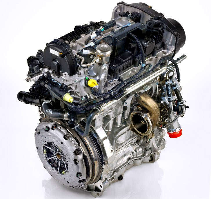 Volvo 15 DriveE 3Cylinder Teased to Produce Up To 180