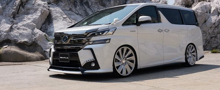 all new toyota vellfire 2017 yaris cvt trd wald international s exterior kit for the can scare your children autoevolution