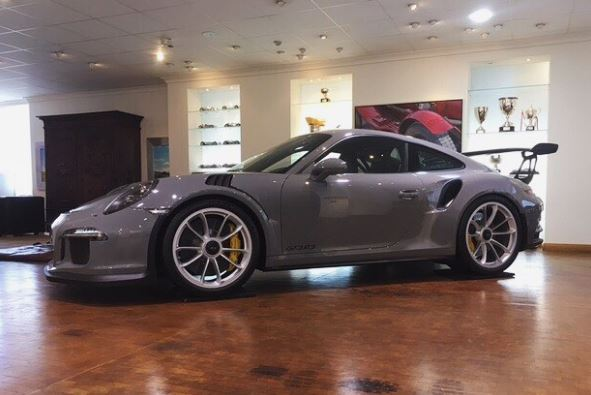 Worlds Only Nardo Grey Porsche 911 GT3 RS Looks Like an