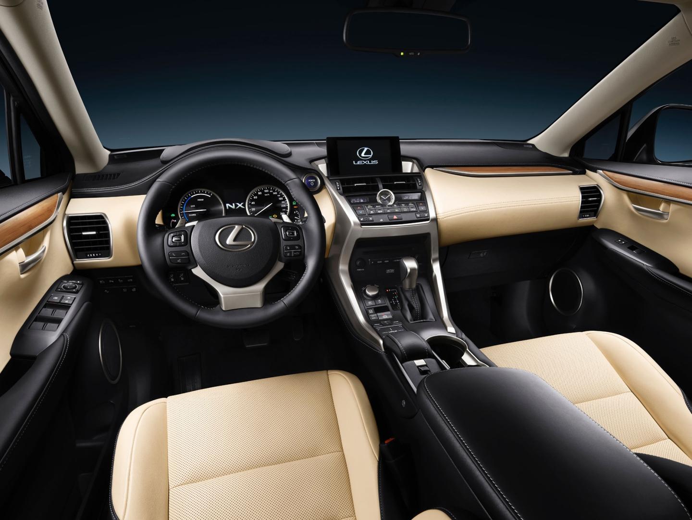 Tan Lexus Nx 200t Interior