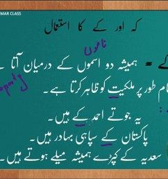 Urdu Grammar Part 7 (kay or kah ka farq) - video Dailymotion [ 1080 x 1440 Pixel ]