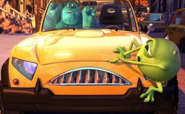 Pixar Short Films Collection Mike S New Car 2002 Video