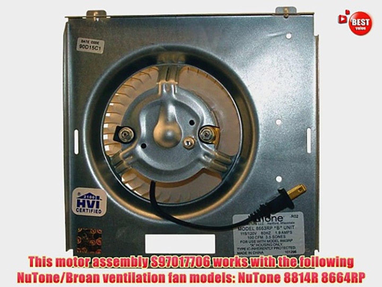 heating cooling air nutone broan