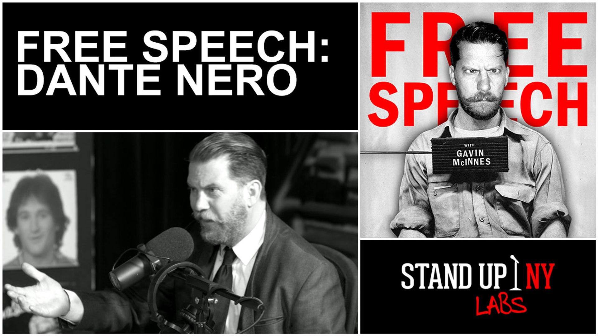 free speech dante nero