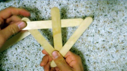 Stick Popsicle Sticks Together Without Glue or Strings ...