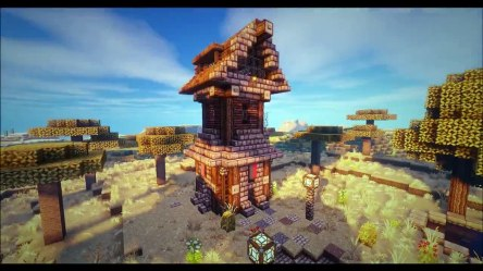 Minecraft Medieval Tower House video Dailymotion