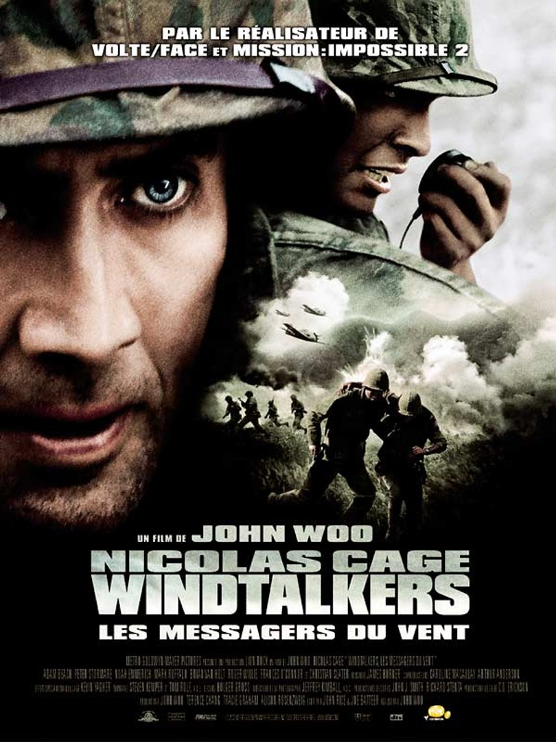 Windtalkers, Les Messagers Du Vent : windtalkers,, messagers, Windtalkers, Messagers, (Bande, Annonce), Vidéo, Dailymotion
