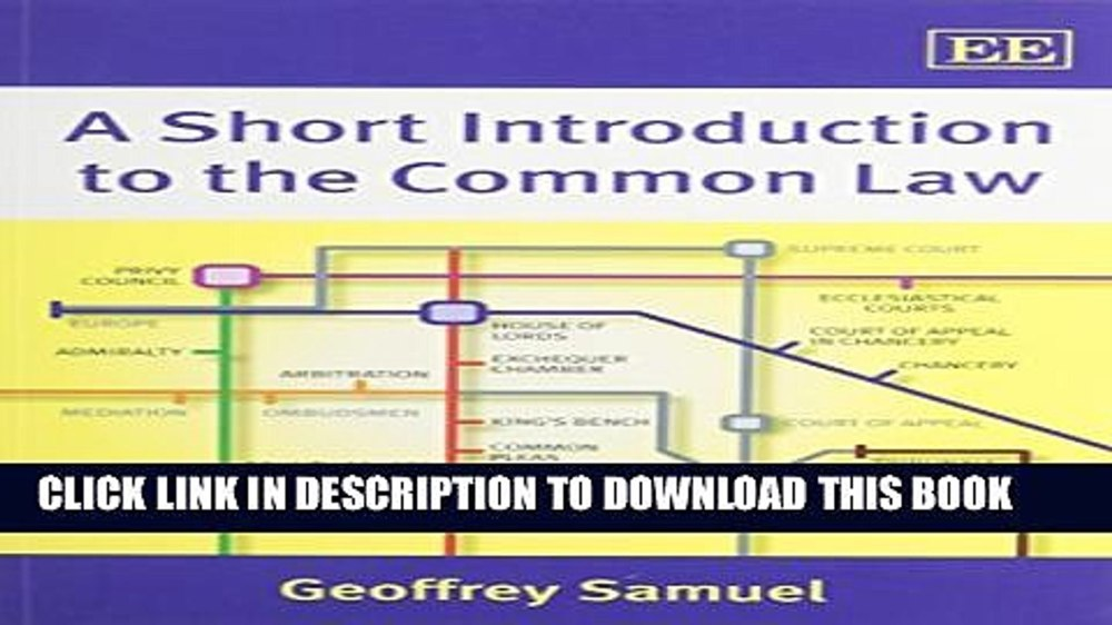 medium resolution of  pdf a short introduction to the common law full online video dailymotion