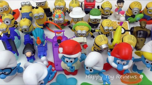 Burger Smurfs King Toys 2017