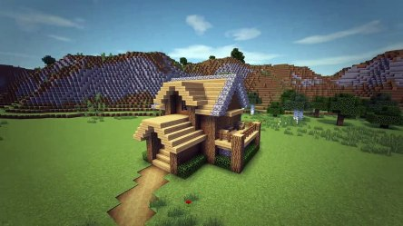 Minecraft: How To Build A Survival Starter House Tutorial #4 Vidéo Dailymotion