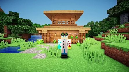 Minecraft: Easy Starter House Tutorial How to Build a House in Minecraft Видео Dailymotion