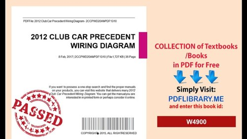 small resolution of 2012 club car precedent wiring diagram video dailymotion mix wiring diagram for precedent 11