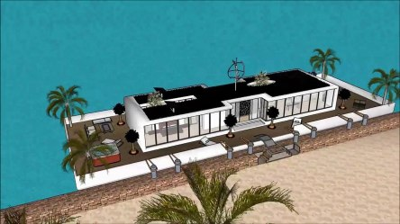 Sims freeplay house ideas one story youtubers house 6 bedroom house villa Floating houseboat yacht l video dailymotion
