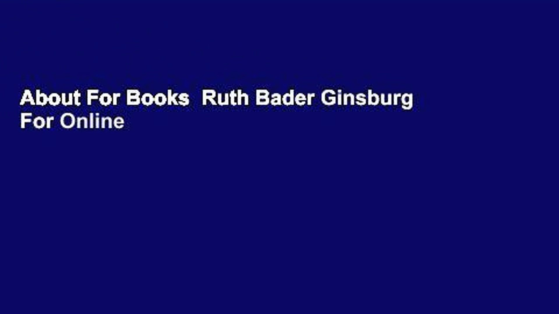about for books ruth