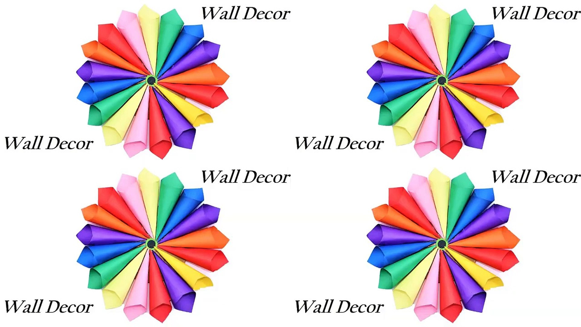 Paper Craft Ideas For Wall Decoration Step By Step Diy Crafts With Paper For Room Decoration Video Dailymotion