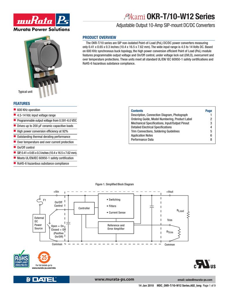 hight resolution of murata okr t 10 w12okr t 10 wiring diagram 14