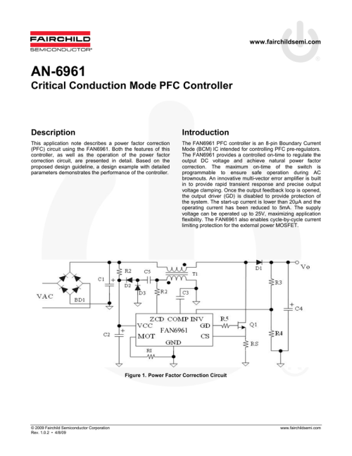 small resolution of pfc circuit diagram