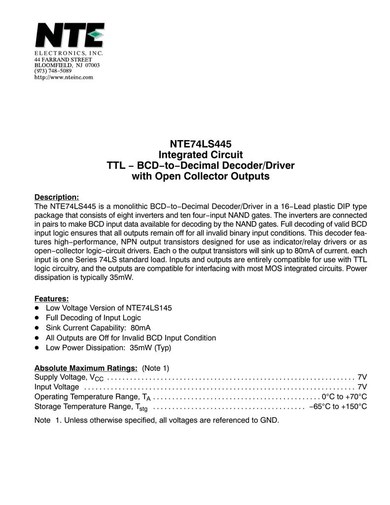 medium resolution of logic diagram of bcd to decimal decoder
