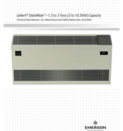 liebert mc condenser wiring diagram wiring diagramliebert datamate u20131 5 to 3 tons [ 791 x 1024 Pixel ]