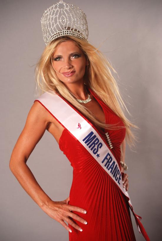 Vronique Fayrac Bailly  Madame France 2008  Mrs France 2008  Madame France  Mrs France