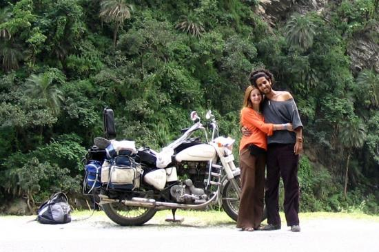 Tal et moi en 2005