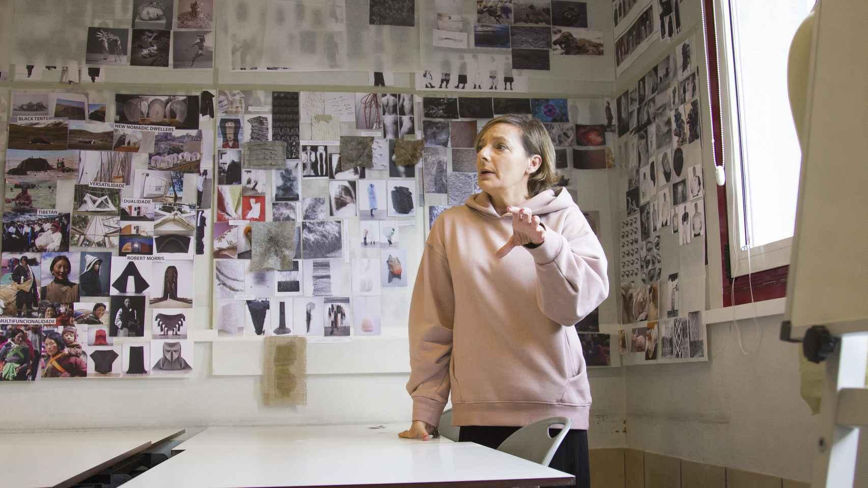 La diseñadora Maria Gambina celebra que Inditex se interese por la ESAD de Matosinhos.