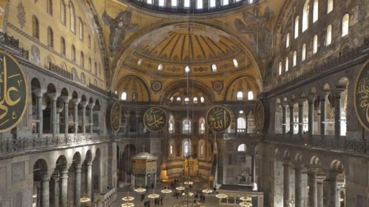 Los últimos secretos de la catedral de Santa Sofía salen a la luz ...
