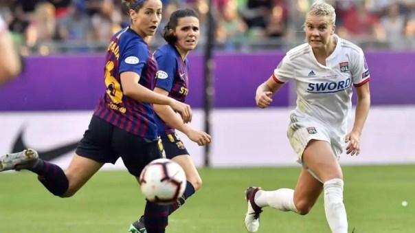 Olympique Lyon 4-1 Barcelona: El Barça femenino dice adiós al sueño de la  Champions y cae por goleada ante el Lyon