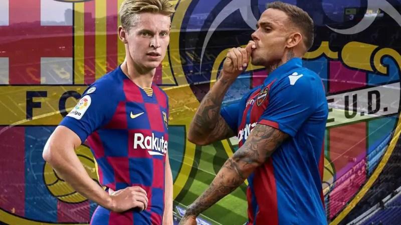 Barcelona - Levante: El Levante mide la mejora copera del Barça de Setién  en el Camp Nou