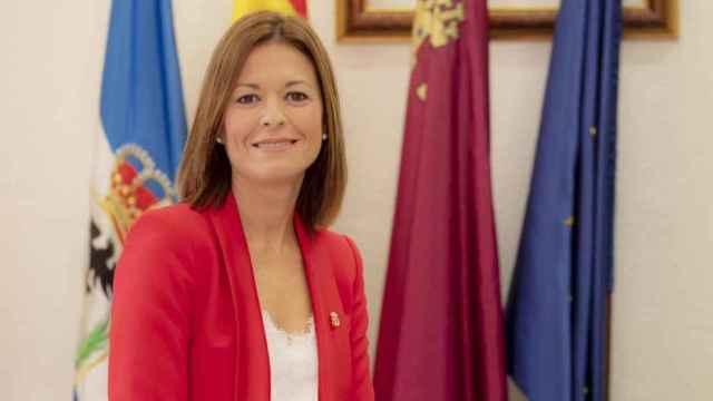 L'alcaldessa d'Águilas, Mari Carmen Moreno.