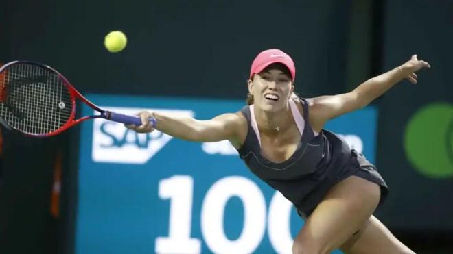 Danielle Collins, la tenista que criticó a Djokovic y que ahora ha puesto en riesgo la gira americana