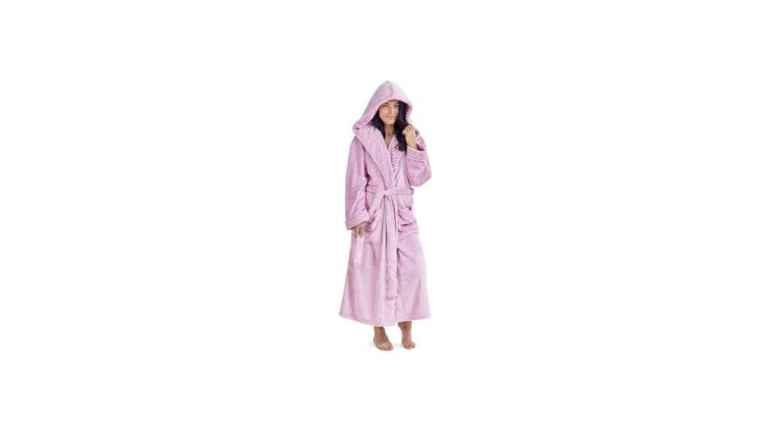 Wool robe
