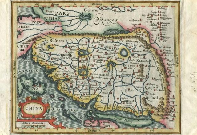 Mapa de las Indias orientales.