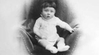 Adolf Hitler cuando era un niño.